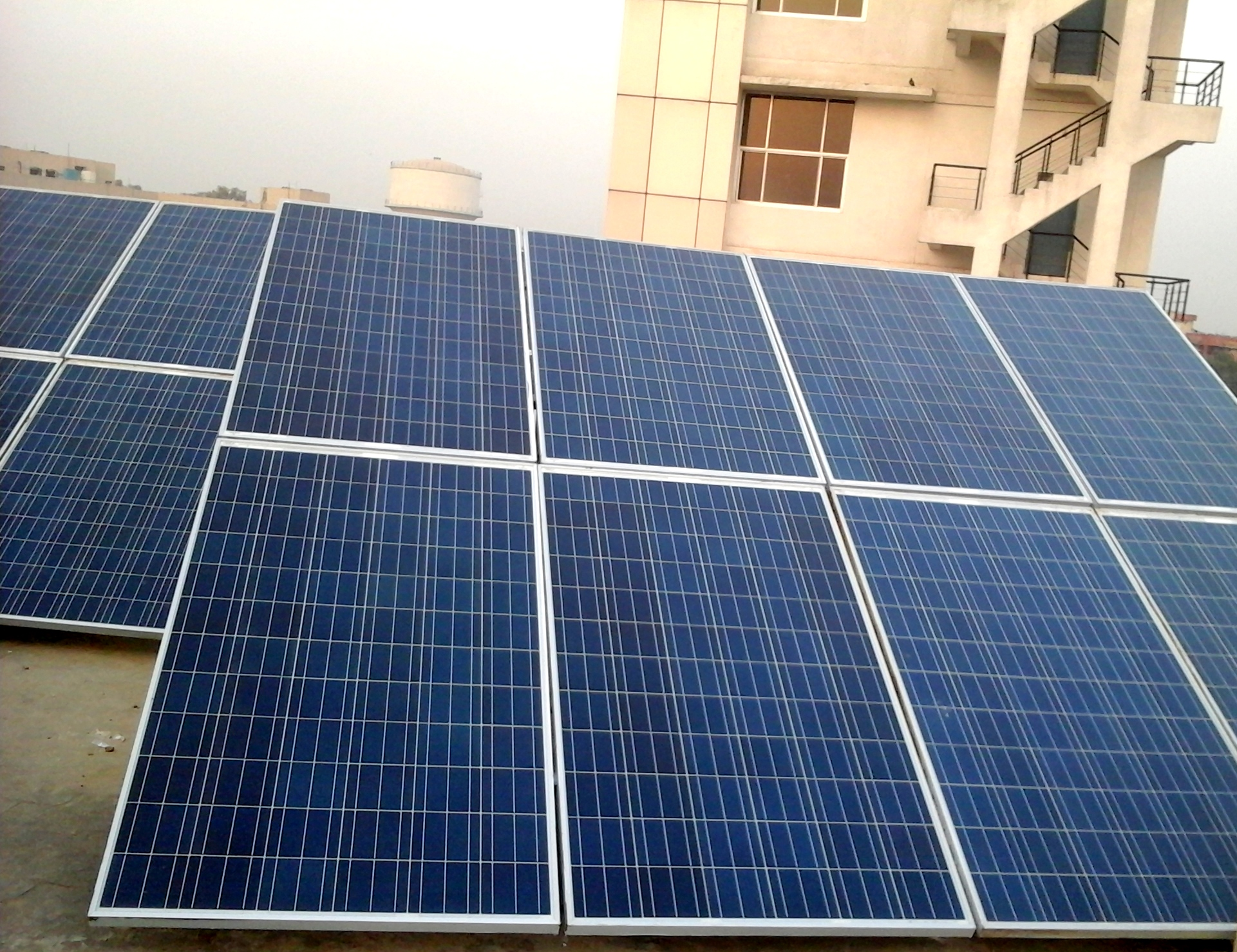 20 kWp On-Grid Roof Top Solar Power Plant