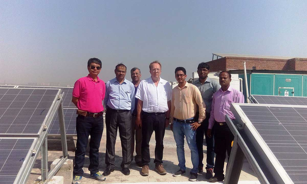 2 MWp On-Grid Rooftop Solar Power Plant