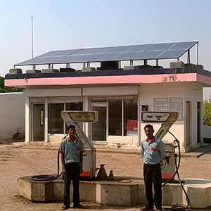 6 kWp Off – Grid Solar Power Plant installed in Harpalpur