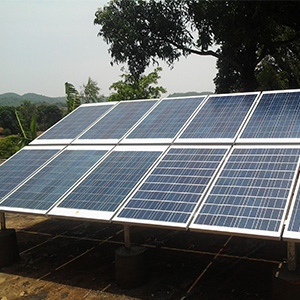 1.2 kWp Off – Grid Solar Power Plant in Odisha
