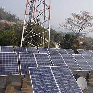 300 kWp Off-Grid Solar Power Plant