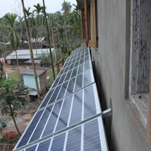 3 kWp Off – Grid Solar Power Plant in Assam