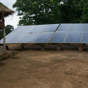 3.68 kWp Off – Grid Solar Power Plant installed in Tripura