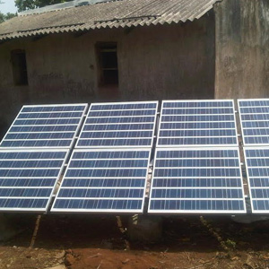 1 kWp Off – Grid Solar Power Plant installed in Orissa