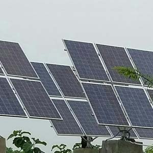 5 HP AC Solar Pumps Installed in Lucknow
