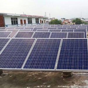 35 kWp Off Grid Solar Power Plant
