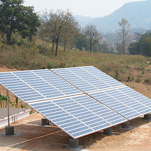 3 kWp * 6 Nos. Off – Grid Solar Power Plant on Govt. Schools in Korapur Dist