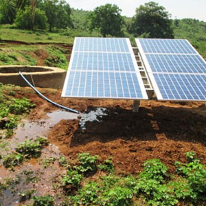 9 Nos * 1 HP DC Solar Pumps Installed in Kalahandi Dist