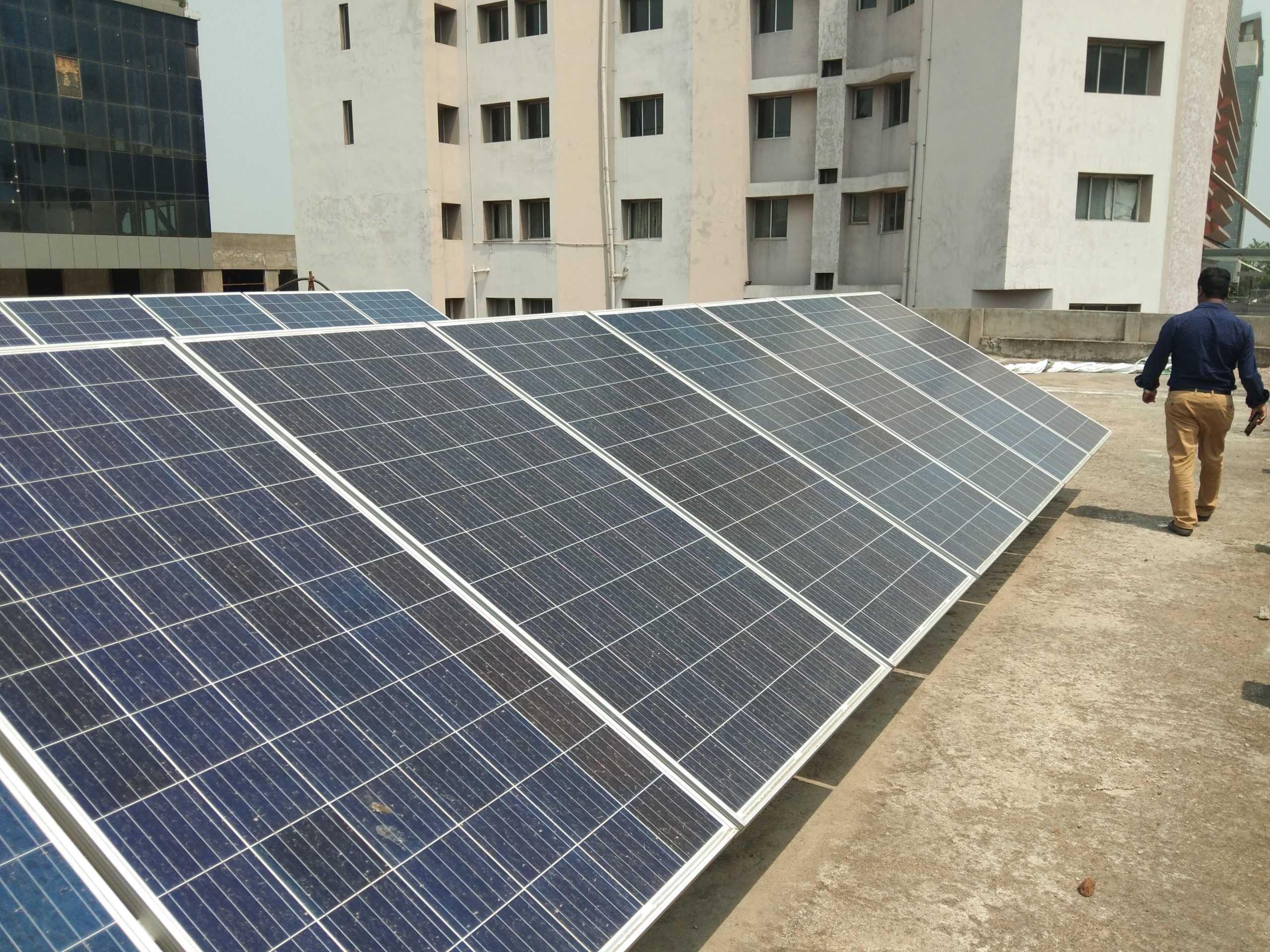 5 kW On-Grid Solar Power Plant