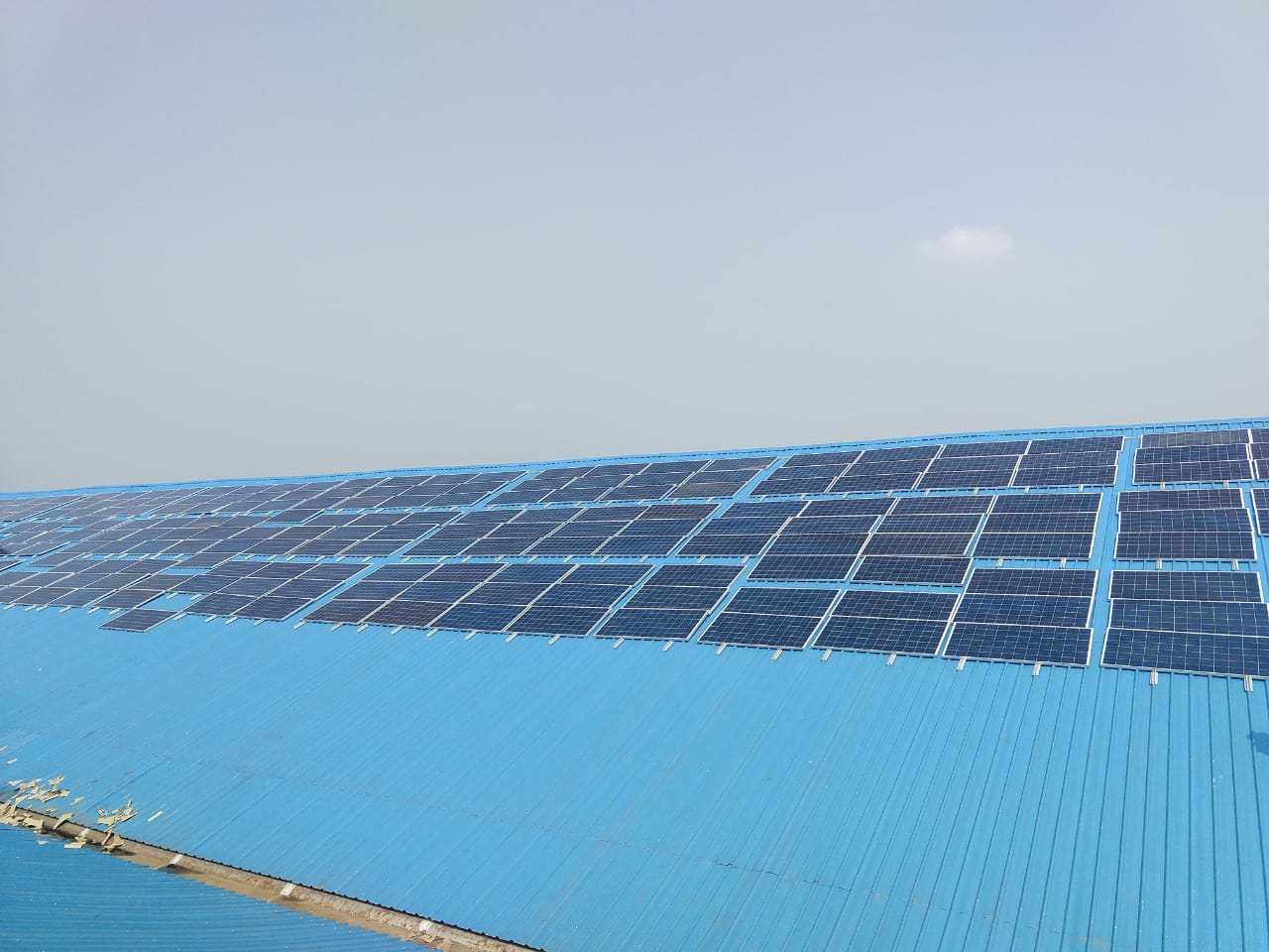 300 kWp On – Grid Rooftop Solar Power Plant