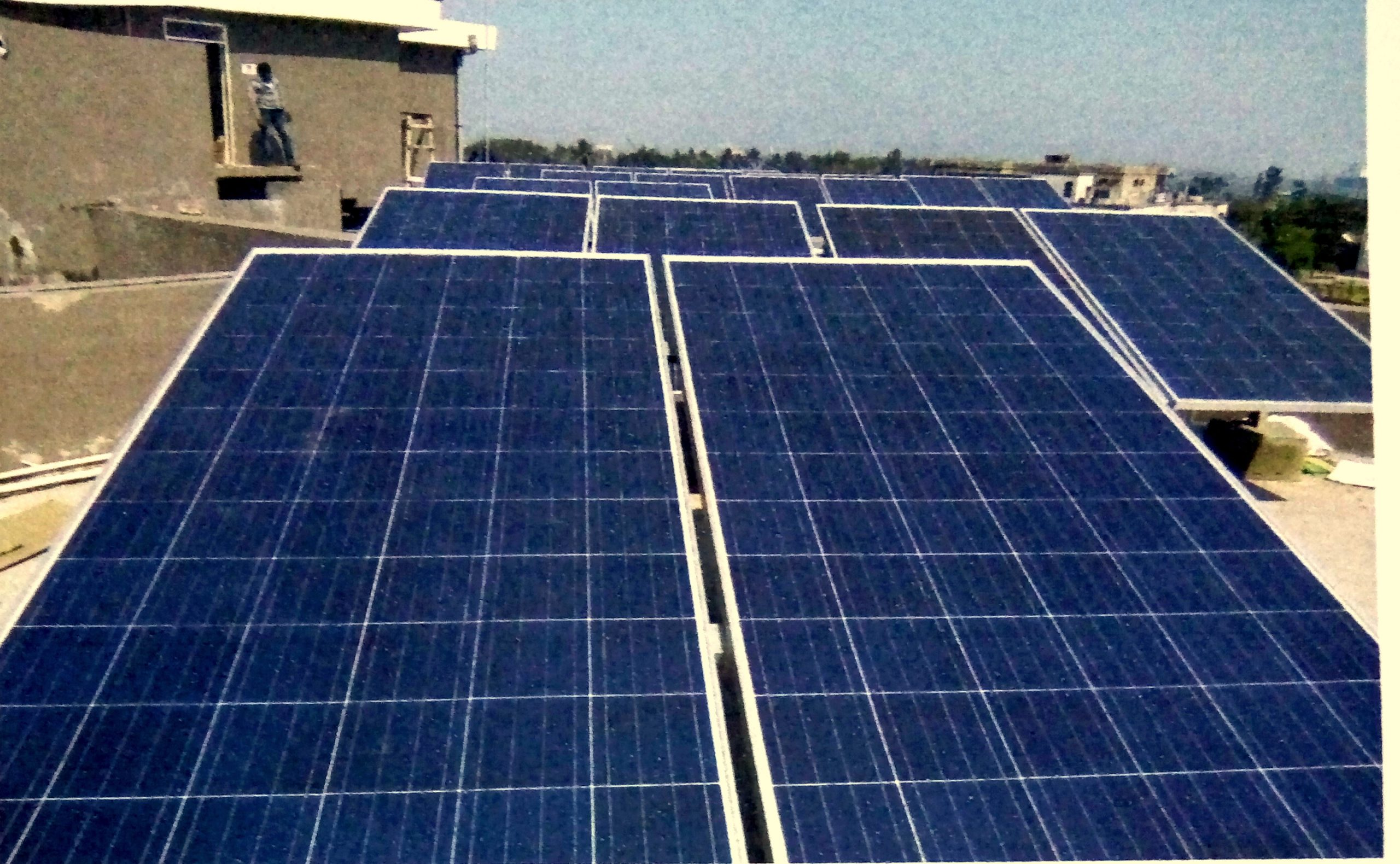 10 kWp Off-Grid Roof Top Solar Power Plant