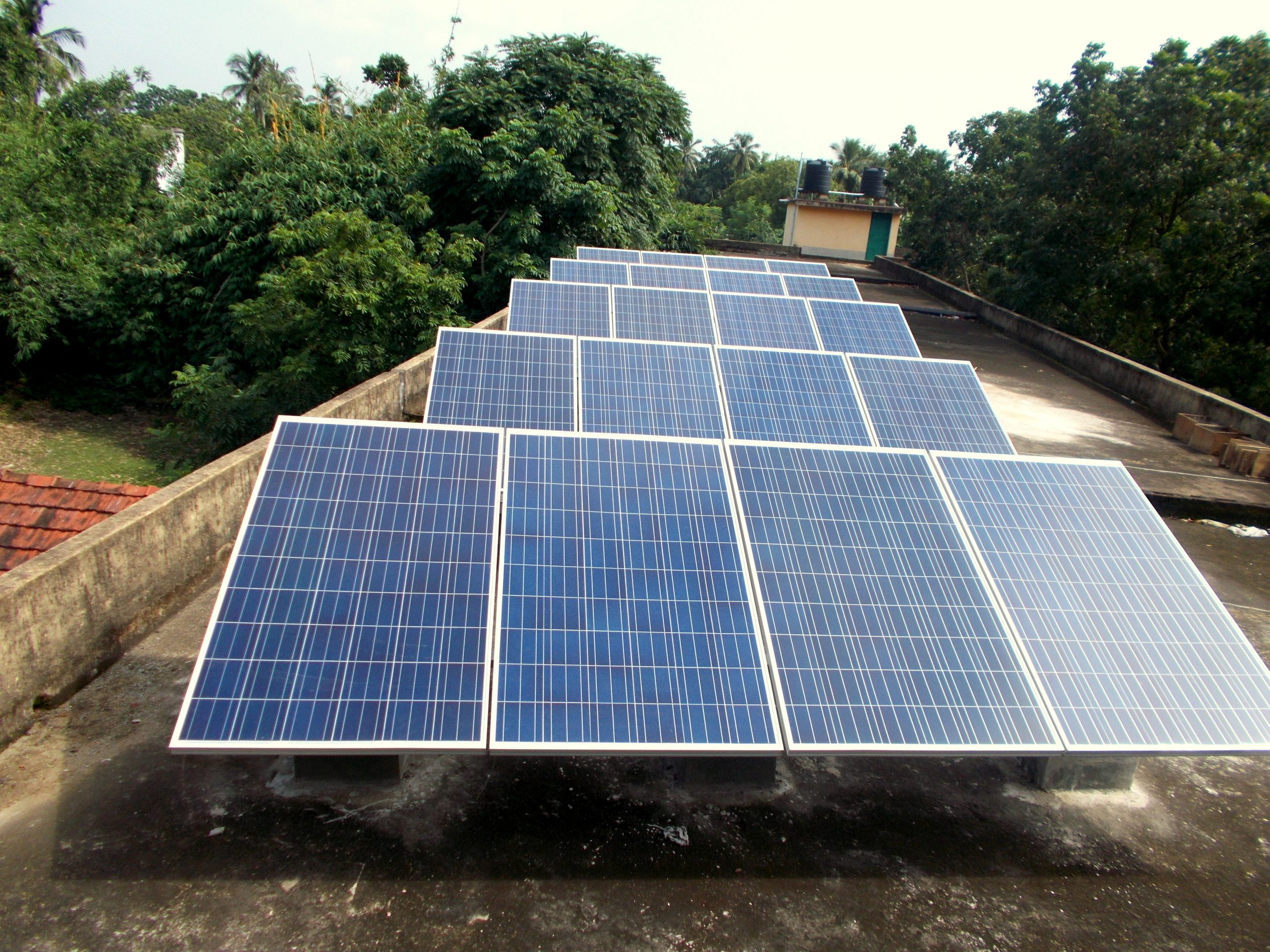 95 kWp On-Grid Rooftop Solar Power Plants