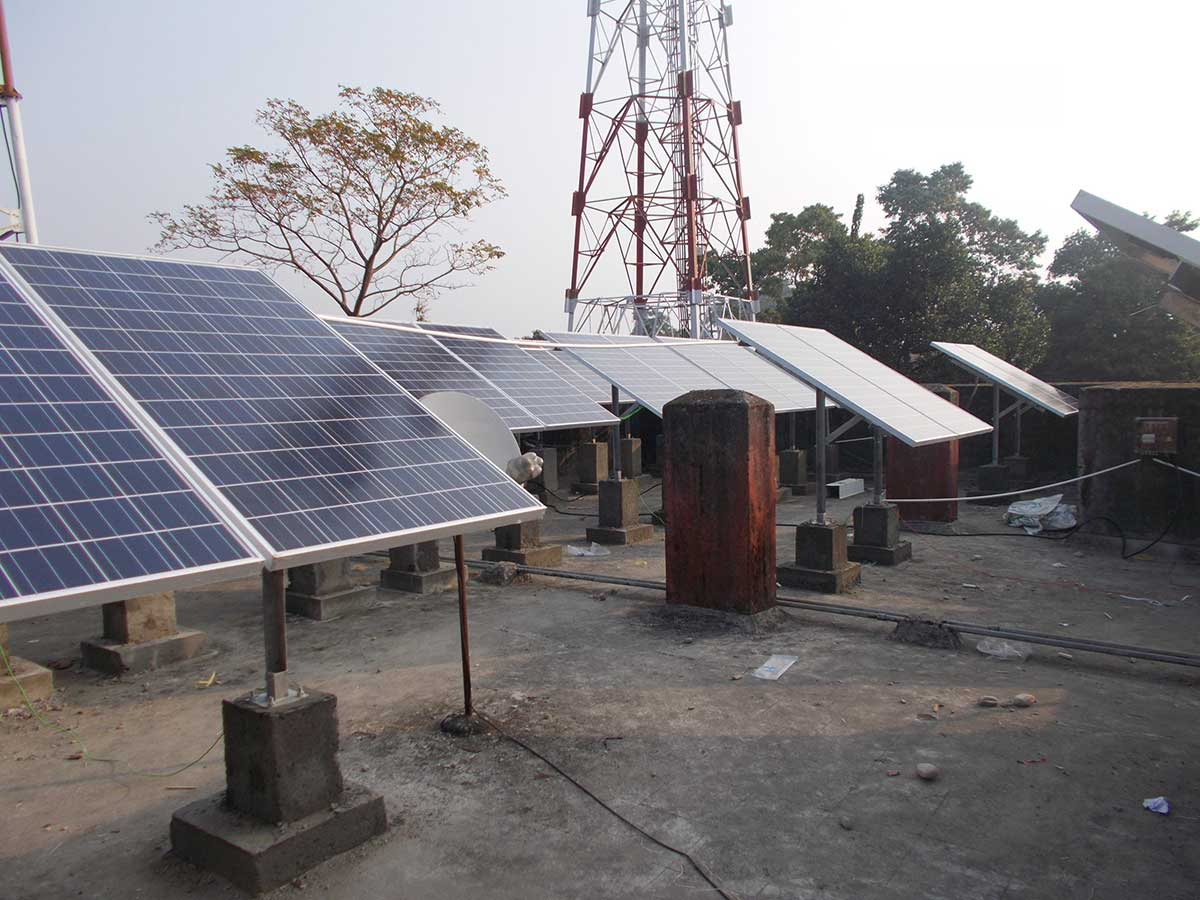 200 kWp On-Grid Solar Power Plant