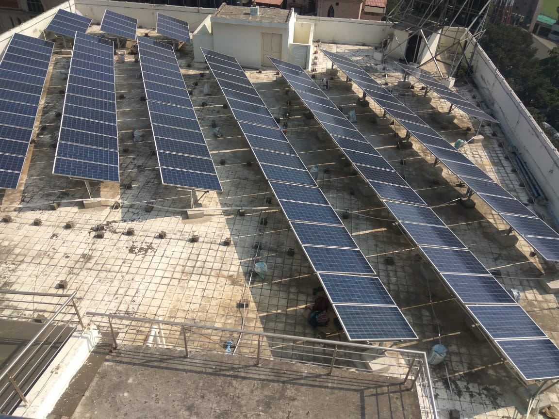 100 kWp On-Grid Rooftop Solar Power Plant