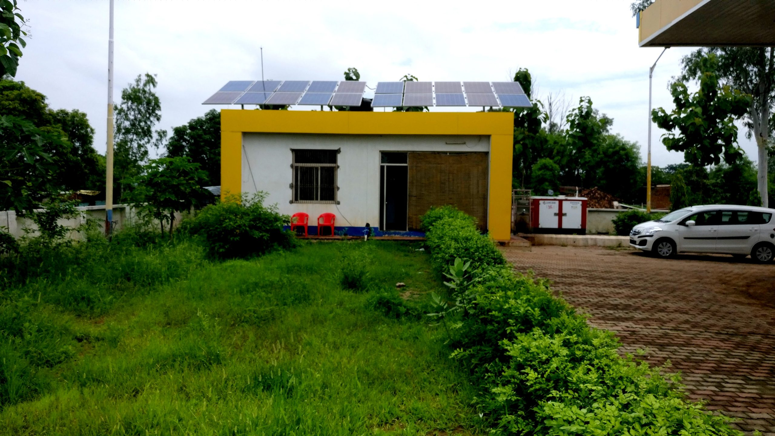 6 kWp Off-Grid Rooftop Solar Power Plant