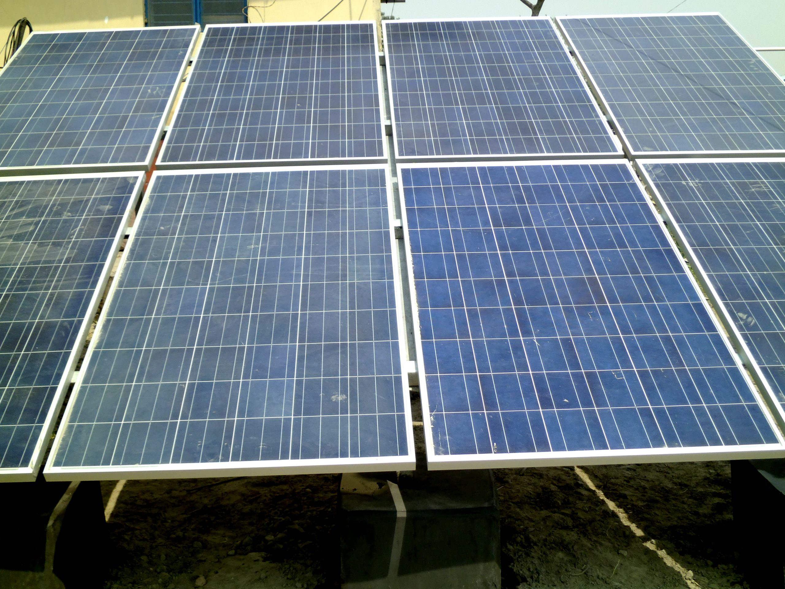 11.04 kW Off-Grid Solar Power Plant