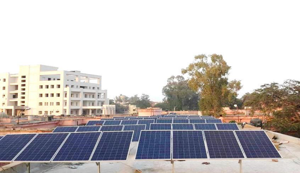 90 kWp Off-Grid Rooftop Solar Power Plant