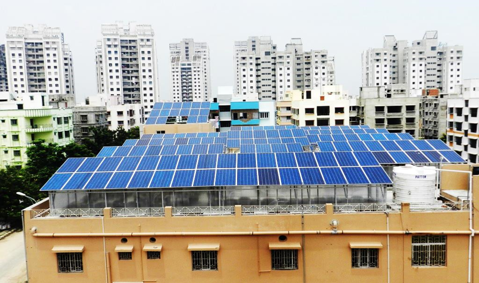 30*2 = 60 kWp On -Grid Rooftop Solar Power Plant
